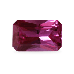 0.49 Akara Certified Emerald Cut Ruby