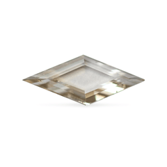 0.49 Smokey Beige Lozenge Rose-Cut Lab Diamond