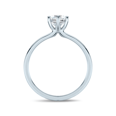 Six Prong Grace Solitaire