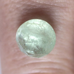 3.91 ct Mint Green Round Rose-Cut Beryl - Fairtrade Jewellery Co.