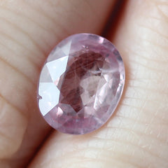 2.66 Vintage Rose Oval Mixed Cut Greenland Sapphire