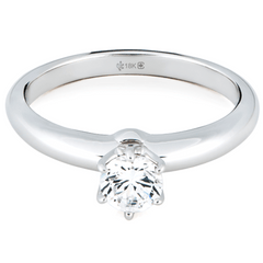 18K 0.44 Carat Canadian Diamond Solitaire - 20% Off