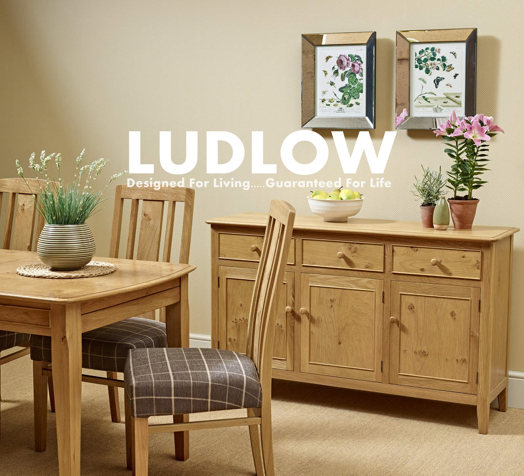 Wood Bros / Old Charm Ludlow Oak Furniture Collection