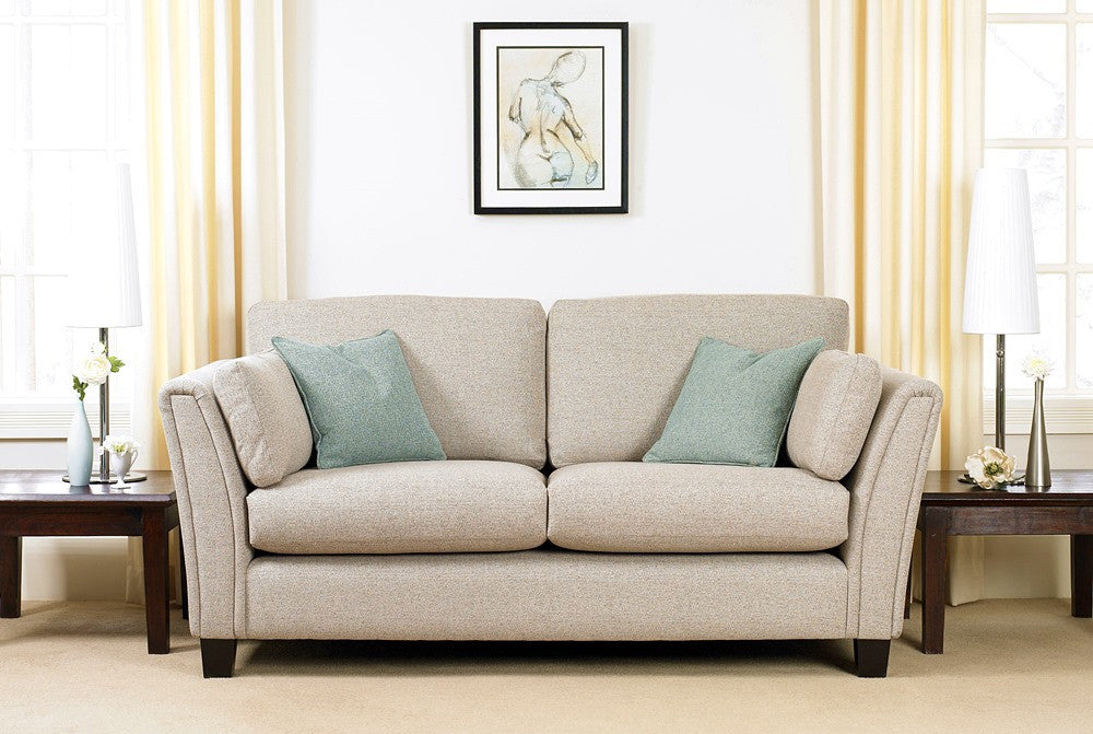 Wade Upholstery Lucia Retro Style 2 Seater Sofa