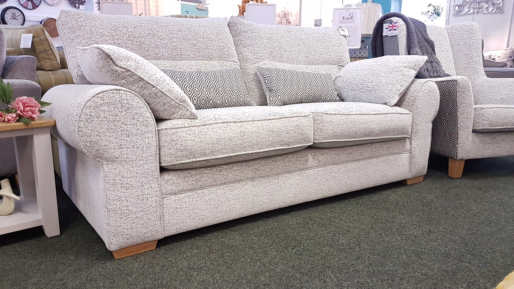 Radleigh Supremely Comfortable Sumptuous Fabric 3 Seater Sofas