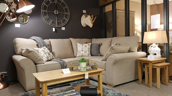 Ex Display Marlborough Medium Corner Sofa - Save £400!