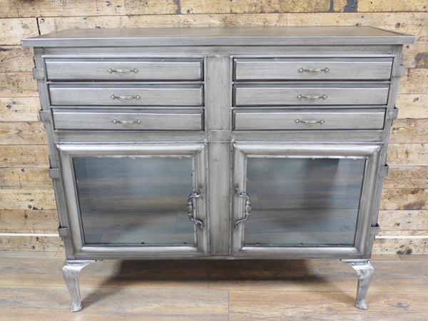 Beautiful Vintage Industrial Sideboard £199
