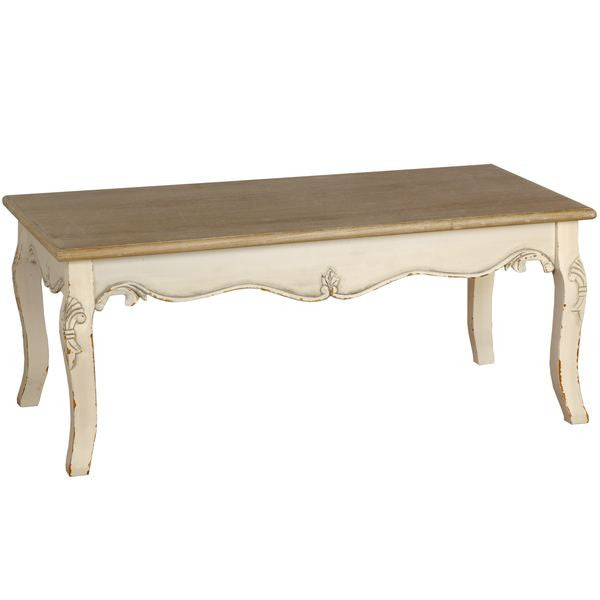 Jolie Country Cream Collection Coffee Table