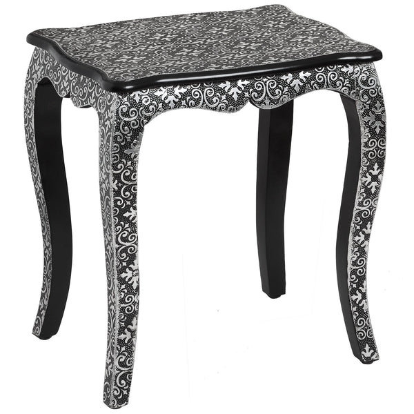 Side lamp tables the interior outlet kasbah embossed ornate metal side table free delivery mozeypictures Gallery