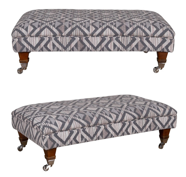 Bardot Banquette Footstools - In Your Choice Of Fabrics