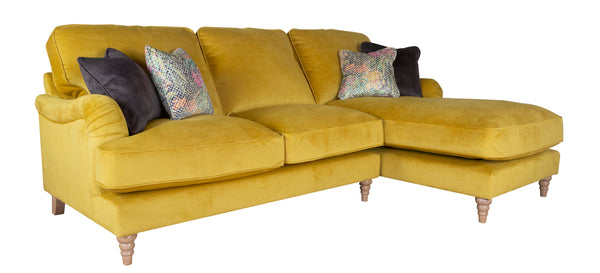 Bardot Elegant Left Or Right Facing Chaise End Sofas - Lots Of Colour Options