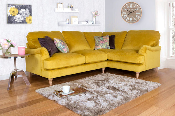 Bardot Left Or Right Facing Corner Sofas - Elegant & Wonderfully Comfy Sofas
