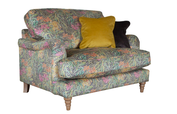 Bardot Super Comfy Elegant Cuddler Loveseat - Available In Lots Of Colours