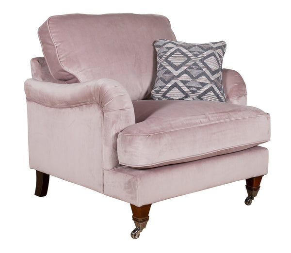 Bardot Super Comfy Elegant Armchairs In Your Choice Of Fabrics
