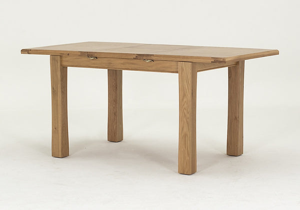 Broughton Solid Oak Small Extending Dining Table (120cm - 160cm)