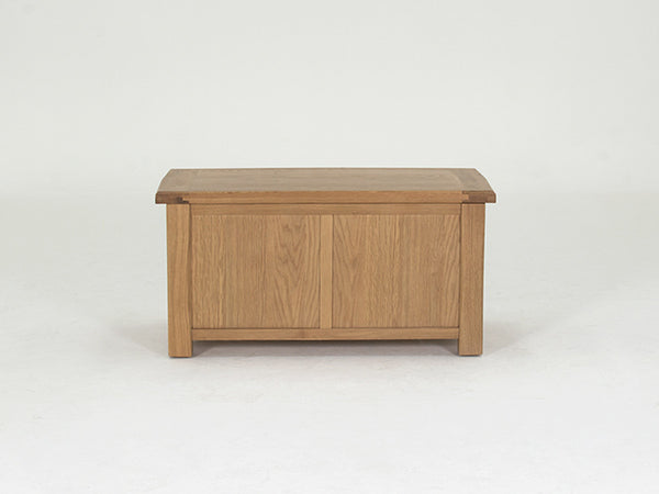 Broughton Premium Light Oak Blanket Box / Ottoman