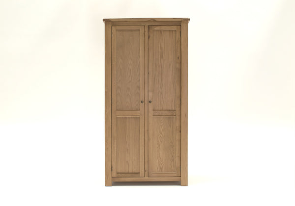Broughton Premium Light Oak 2 Door Wardrobe