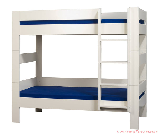 No Angels - Childrens White Bunk Bed - Free Delivery