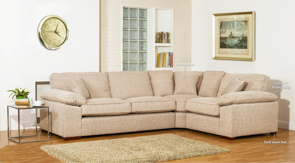 Denver Right Facing Corner Sofas By Buoyant - Modern Styling & Supreme Comfort