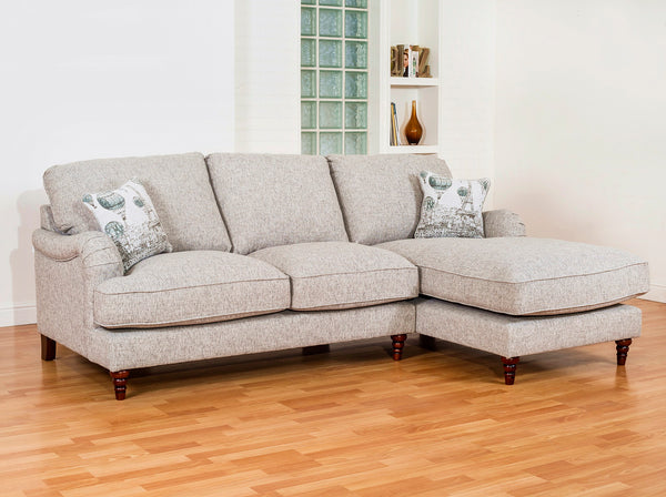 Cadogan Classically Elegant Left Or Right Chaise End Sofas - Choice Of Fabrics