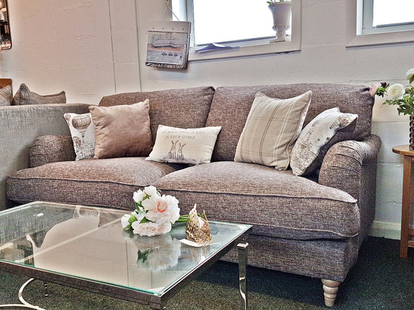 Cadogan Ex Display Elegant & Comfy Taupe 3&2 Seater Sofa Set Only £999