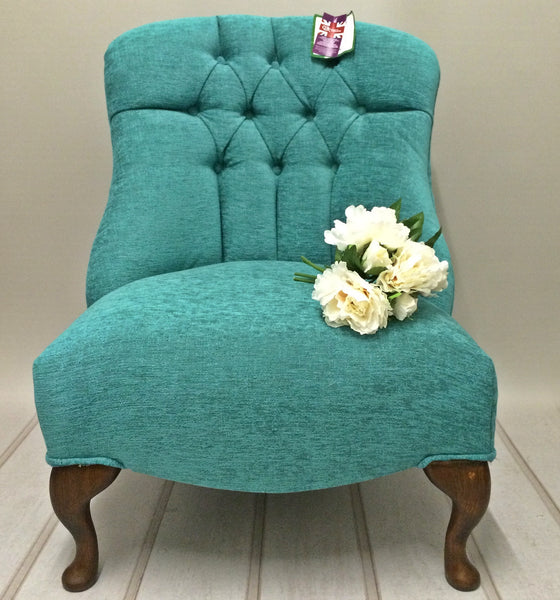 Cherish - Bespoke Button Back Bedroom Chairs - Wide Range Of Colours