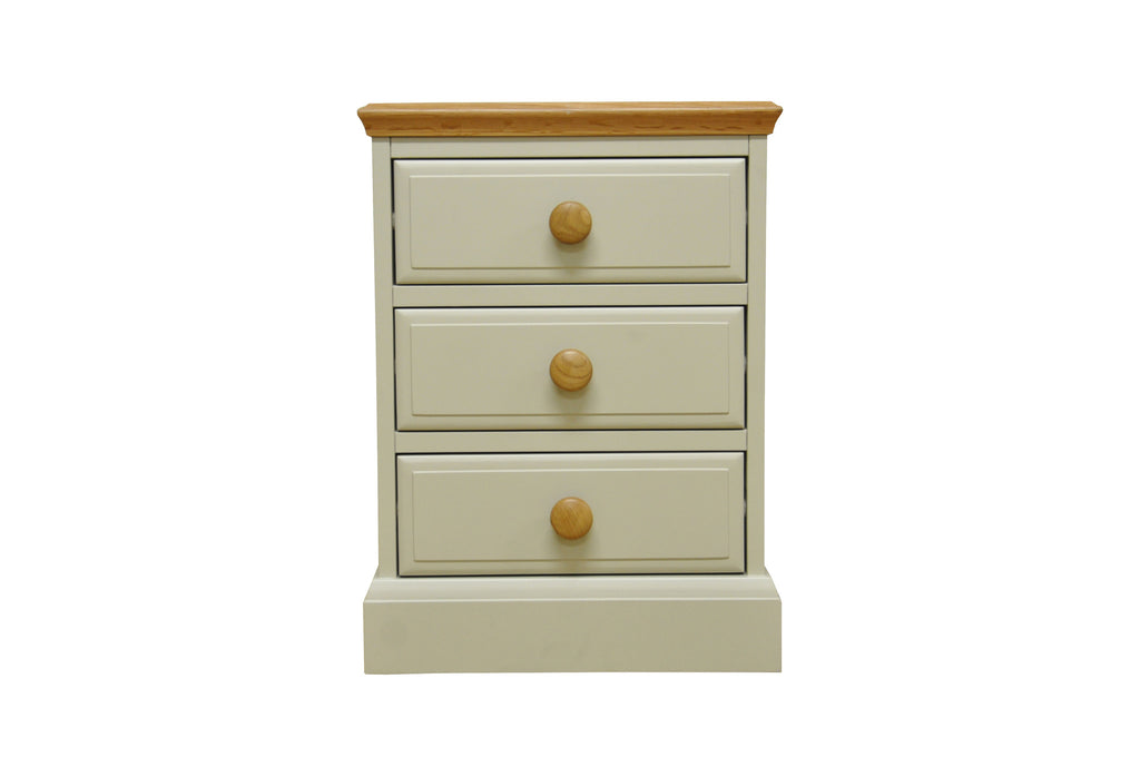 Dijon-Painted-oak-top-large-3-drawer-bedside-cabinet
