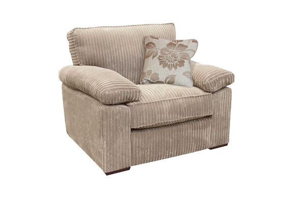 Buoyant Denver Supremely Comfy Fabric Armchairs Amp Sofas