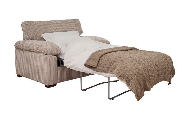 Denver Quality Fabric Armchair Beds & Armchair Sofabeds ...