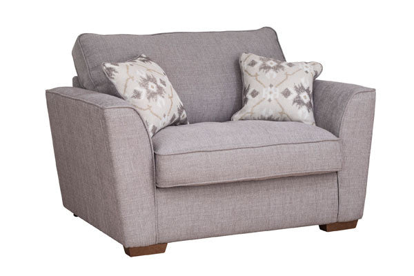 Alexis Snuggle Chair - Super Comfy & Made In UK By Buoyant Upholstery