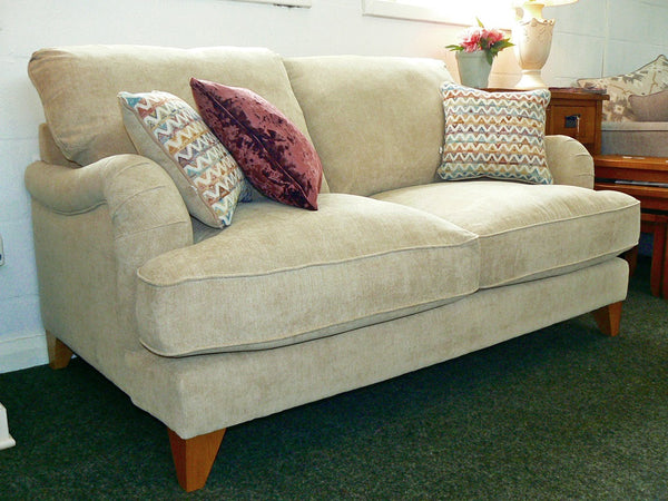 Buoyant Elegant & Super Comfy Garbo 2 Seater Sofa - Choice Of Fabrics & Colours