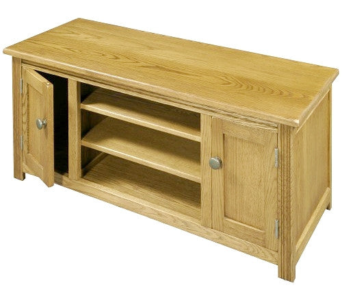 Old Charm Hertford Premium Oak TV Unit HE2688 Only £249 | (RRP £699)