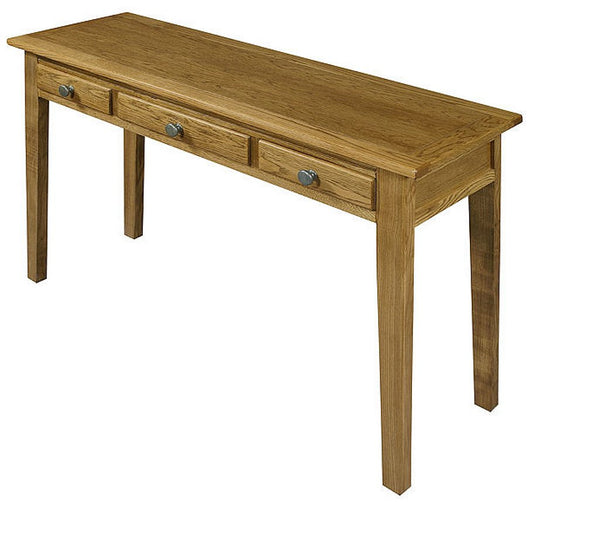 Old Charm Hertford Large Oak Console Table HE6024/VT - £359 (RRP £499)
