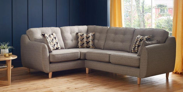 Daltrey Left Or Right Facing Iconic 60s Style Corner Sofas - 5 Colour Options