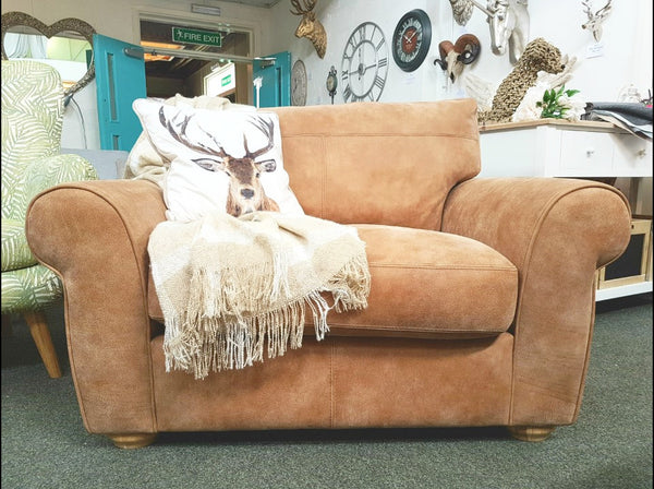 Madison Leather Snuggler Armchair - Only £749