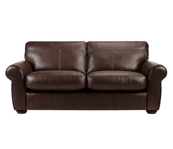 Madison Medium Leather Sofa - From Only £899