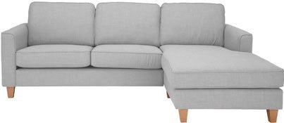 Portia Fabric RHF Chaise End Sofa In A Variety Of Colours - Just £899