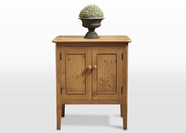 Ludlow Oak Pedestal Cabinet 2938 (RRP £499) - Premium Oak Furniture By Wood Bros