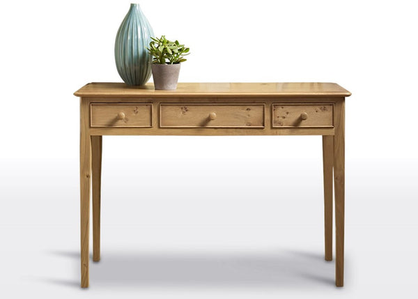 Ludlow Oak Hall Table 2946 (RRP £539) - Premium Oak Furniture By Wood Bros