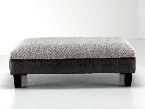 Marlborough Banquette Footstool - Super Stylish Modern Fabric Sofa Collection