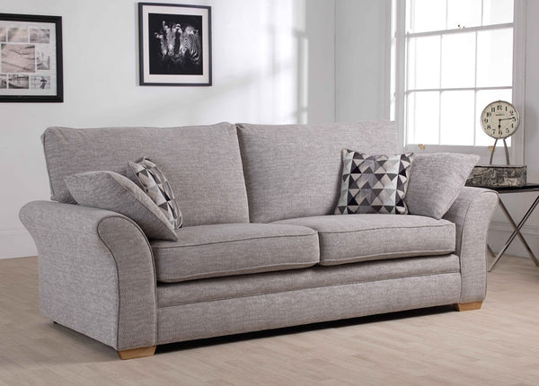Marlborough 3 Seater Sofas - Super Stylish Modern Fabric Sofas