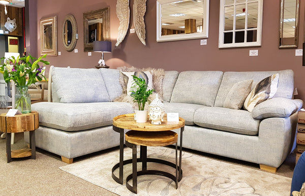 Premium Department Store LHF Corner Chaise End Sofa Only £1,299 - RRP £1899