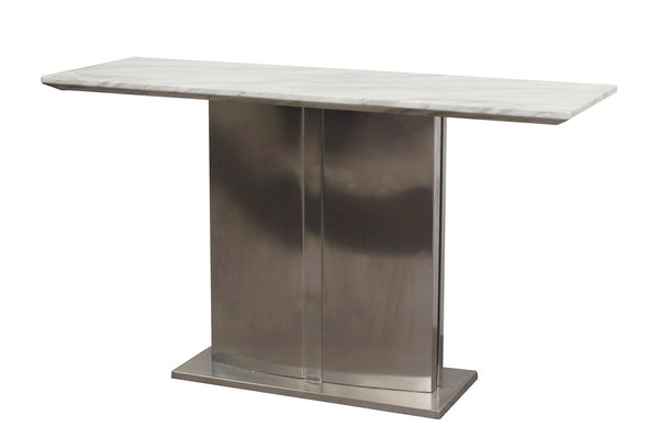 Preci Marble Console Table With Luxurious Contemporary Style