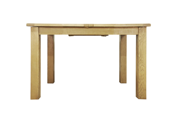 Woburn 115cm Butterfly Extending Oak Dining Table