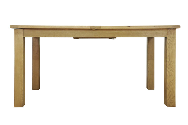 Woburn 160cm Oak Butterfly Extending Dining Table