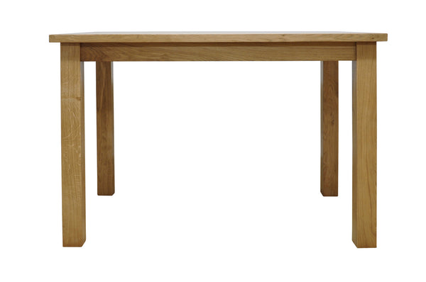 Woburn 115cm Large Oak Fixed Top Dining Table