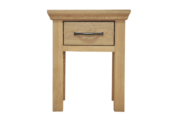 Woburn Oak Lamp Table
