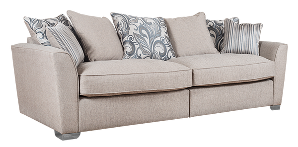Alexis Super Comfy 4 Seater Sofa | Variety Of Colours