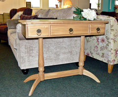 Beautiful Wood Bros Cotswold Elegant Console Table - Only £179