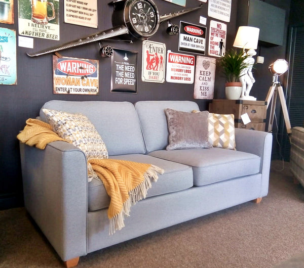 High End Dept Store Portland Grey Sofa Bed - Immediate Dispatch